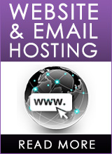 hosting of website and emails